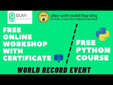 Guvi Free Online Workshop with Certificate   Free Python Course ...