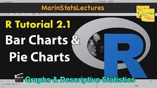 Bar Charts and Pie Charts in R   R Tutorial 2.1   MarinStatsLectures
