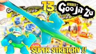Heroes Of Goo Jit Zu Des Figurines Quon Etire Et Quon Déforme Comme Un Fou Unboxing Slime