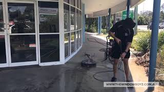 Brisbane Commercial Window Cleaning and High Pressure Cleaning