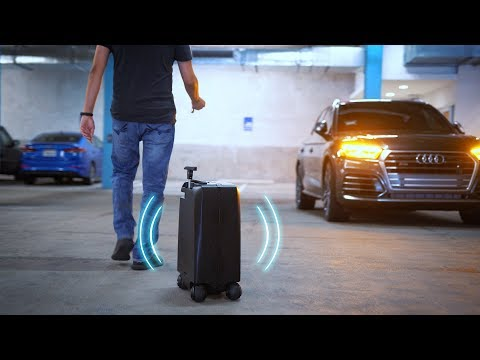SELF DRIVING LUGGAGE!? – World's Smartest Suitcase