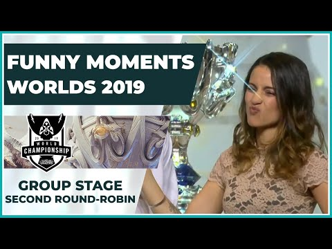 Funny Moments - Worlds 2019: Group Stage   Second Round Robin