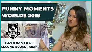 Funny Moments - Worlds 2019: Group Stage | Second Round Robin