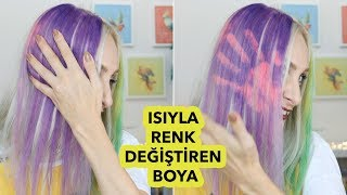 The first in the world ❗️ COLOR THAT CHANGES IN HAIR PAINT   Sabile Dies