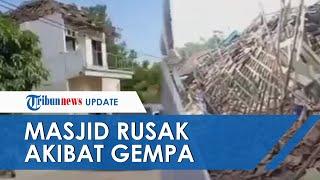 Kantor Desa hingga Masjid di Jatim Rusak seusai Diguncang Gempa 6,7 SR, Puskesmas Juga Terdampak