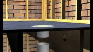The how to Installation of Floor wastes for bathrooms and wet areas pre waterproof and tiles