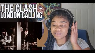 The Clash - London Calling (Official Video) REACTION!!