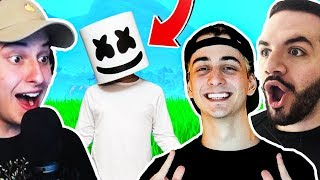 FORTNITE WIN - MARSHMELLO, COURAGEJD & CLOAKZY!!