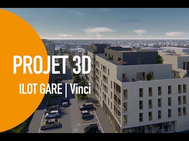 Ilot gare - Projet 3D