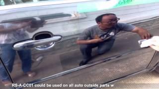 000001 RS-A-CC01 Nanotech 9H Crystal Car Coating Application Instruction