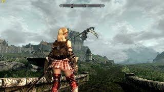 Skyrim Summertime Mod -4- Dragonborn