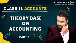 #8, Theory base of accounting - concept, conventions, assumptions(Part 1)