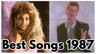 BEST SONGS OF 1987