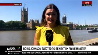 Boris Johnson elected Conservative Party leader: Holly Hudson