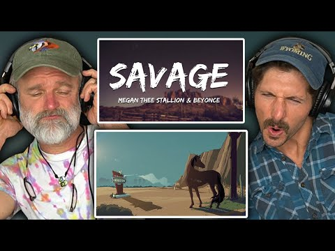 Montana Guys React To Savage Remix - Megan Thee Stallion (feat. Beyoncé) [Official Audio]