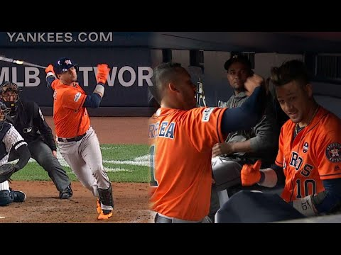 ALCS Gm4: Gurriel rips a bases-loaded double to left
