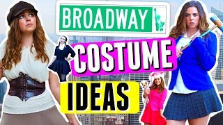 🎃 5 DIY HALLOWEEN COSTUMES: BROADWAY MUSICAL EDITION!! 🎭 THEATRE GIRL DIY COSTUME IDEAS!