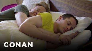 <b>Elijah Wood </b>On Spooning With Conan
