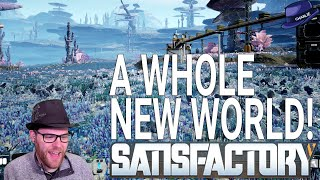 SATISFACTORY: 'NEW WORLD' - Part 01 - The Long, Dangerous Journey - Satisfactory Gameplay