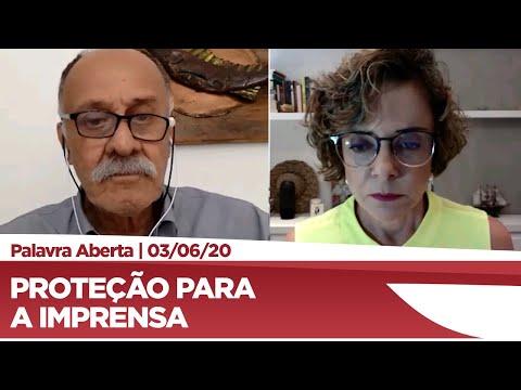 Paulo Ramos apresenta projeto em defesa dos profissionais da imprensa - 03/06/20
