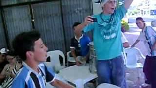 preview picture of video 'Gol do Grêmio contra o Galo, comemoração da Geral de Bcão/DC'