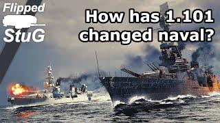 How Has 1.101 Changed Naval? | Flipped_StuG | War Thunder