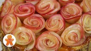 Украшение Яблочные Розы ✧ Школа Домашнего Кондитера