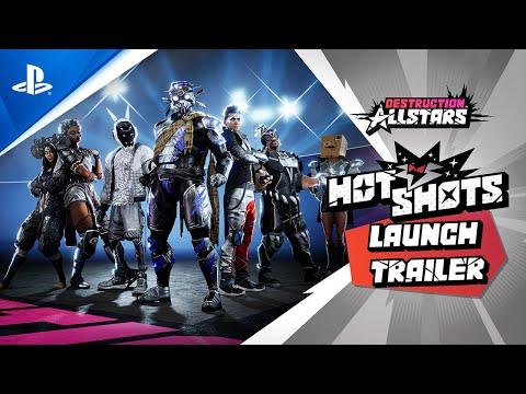Trailer de lancement pour la saison 1 de Destruction AllStars
