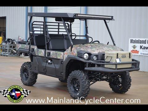 2017 Kawasaki Mule PRO-FXT EPS Camo in La Marque, Texas