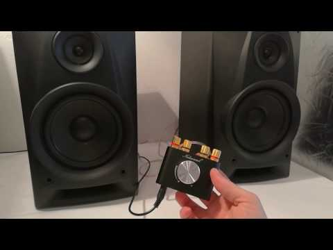 Nobsound NS-01G unboxing and test