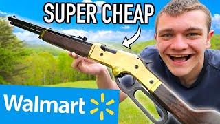 $50 Walmart Hunting Challenge! (Catch Clean Cook)