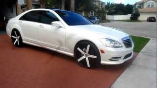 Mercedes Benz S550 on 22