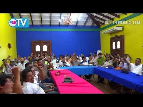 Combatientes historicos del Departamento de Masaya respaldan mesa de Dialogo y hacen el llamado a la paz