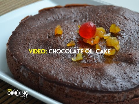 Video Chocolate Oil Cake Recipe
