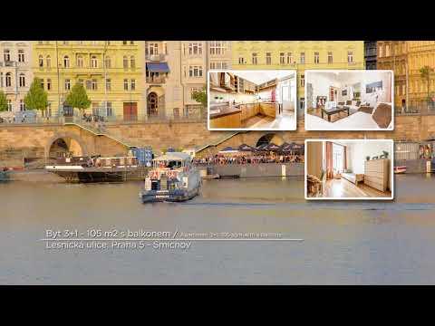 Video Prodej bytu 3+1 v osobním vlastnictví 105 m², Praha 5 - Smíchov