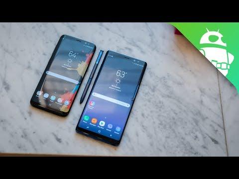 Quick Look Samsung Galaxy Note 8 Vs S8