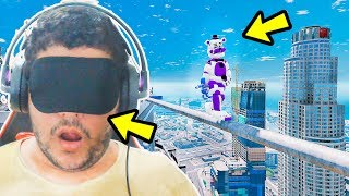ANIMATRONICS BIRD BOX DESAFIO IMPOSSÍVEL COM FUNTIME FREDDY?  | GTA V Five Nights at Freddy