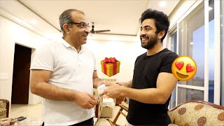 Surprise GIFT For DAD S Birthday 😱 *Shocking Reaction*