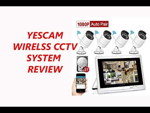 YESKAM 2TB Wifi Camera Security System In Depth Review