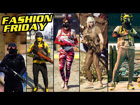 GTA Online: FASHION FRIDAY SPECIAL (15+ Female Outfits & 10+ Male Outfits)