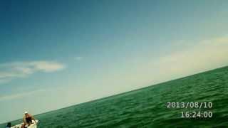 preview picture of video 'Спорт камера Eeyelog SDV268 Катание на бананне Капчагай'
