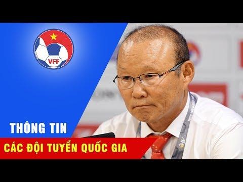 HLV Park Hang Seo: Trong thời gian tới ĐTQG Việt Nam sẽ mạnh hơn hiện tại