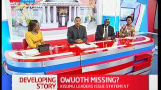 Owuoth's disappearance; State of the race