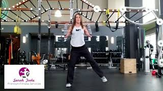 Exercise of the Week - side lunge/curtsy lunge
