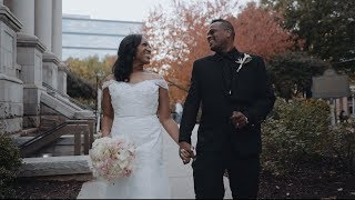 A Small Intimate Wedding | The Georgian Terrace Hotel | Sony A7III Wedding FIlm
