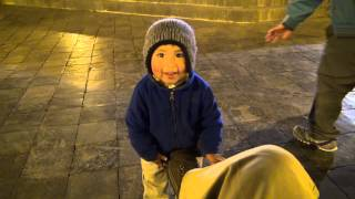 Little Boy In The Plaza De Armas, Cusco