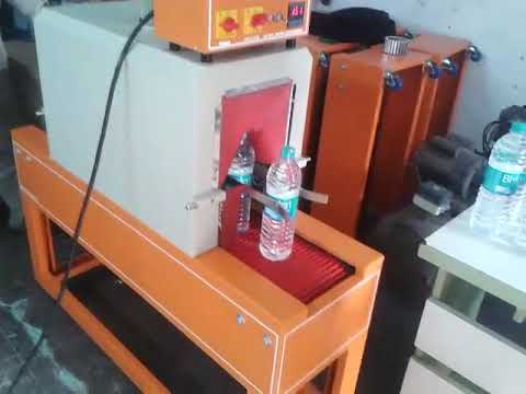 Shrink Machine For Water Bottle Label And Cap