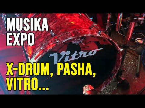 Batterie e accessori X-Drum, Pasha, Vitro e Agner @ Musika Expo 2019