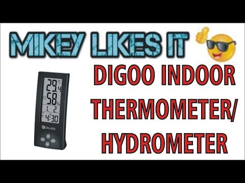 Digoo Thermometer Video Review