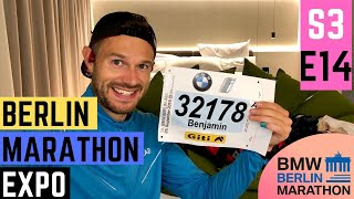 BERLIN MARATHON EXPO - number collection & WHAT's in mY TRAVEL BAG! S3E14